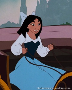 Mulan in carriage copy
